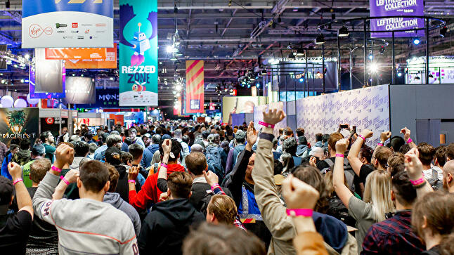 Visit events like EGX to start making contacts in the industry