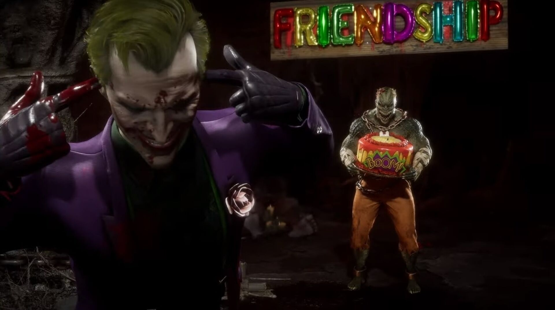 Mortal Kombat 11's Joker brings back Friendship • Eurogamer.net