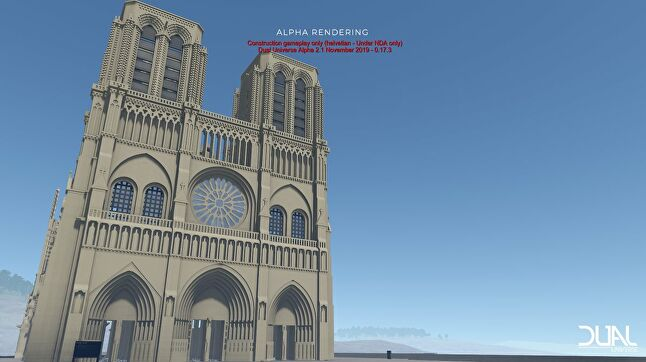 Real-world religion may be unwelcome in Dual Universe, but this Catholic place of worship seems to be accepted for now