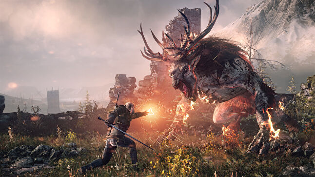 The Witcher was originally a book series, but there's no doubt that the reason it's on TV is down to CD Projekt's hugely popular game series