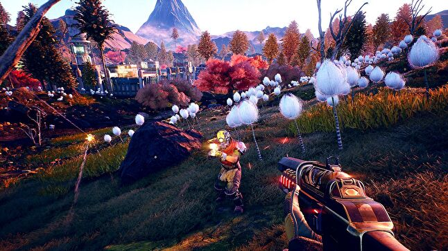 The Outer Worlds is ironically colorful for an Obsidian game