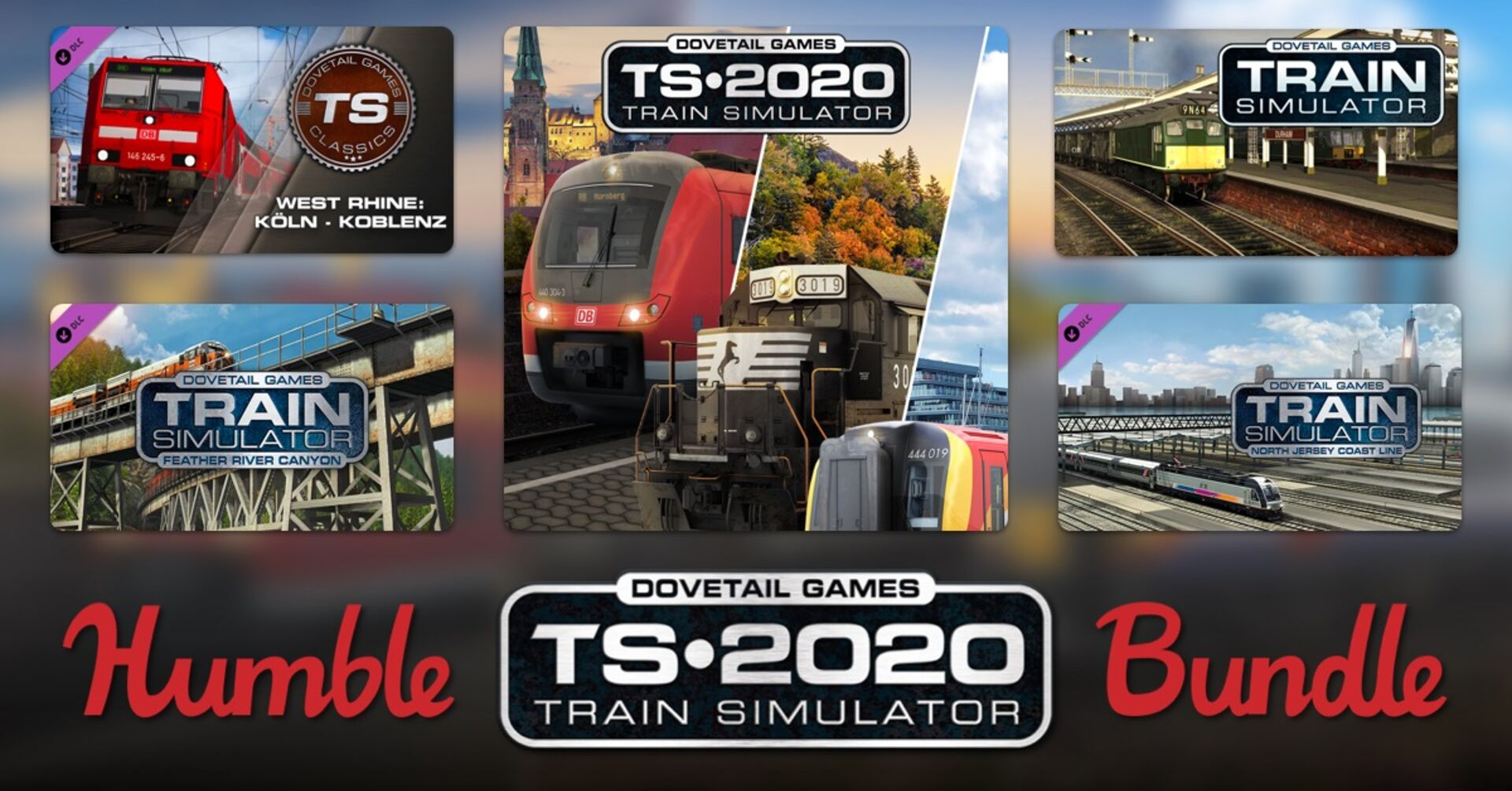 The Humble Train Simulator bundle takes you on a direct