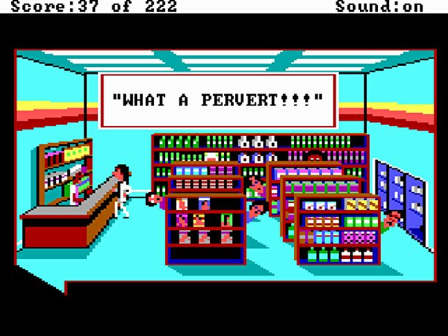Video games with sexual themes have struggled to in the marketplace since Leisure Suit Larry in the '80s