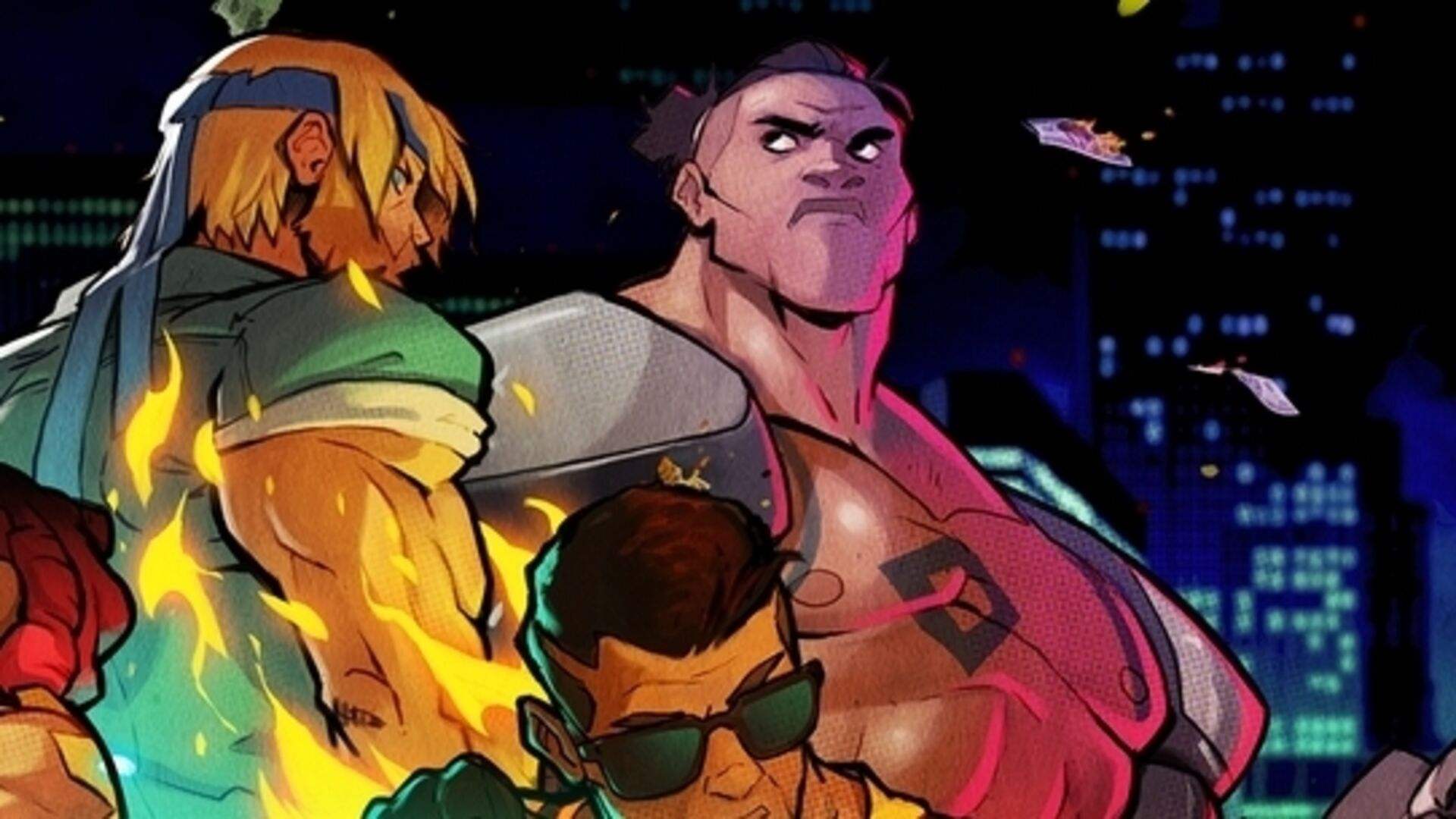 Streets Of Rage 4 Shows Off Four Player Co Op New Character Floyd