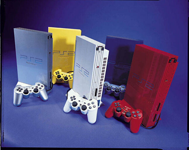 The PS2 tried to offer something for everyone, right down to the colour of the hardware
