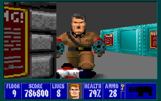 The imagery in games like Wolfenstein 3D were added to an index and denied distribution in Germany