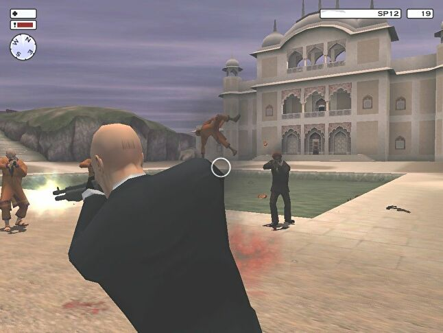A scene from Hitman 2 was removed as it was reminiscent of  the Golden Temple massacre of 1984