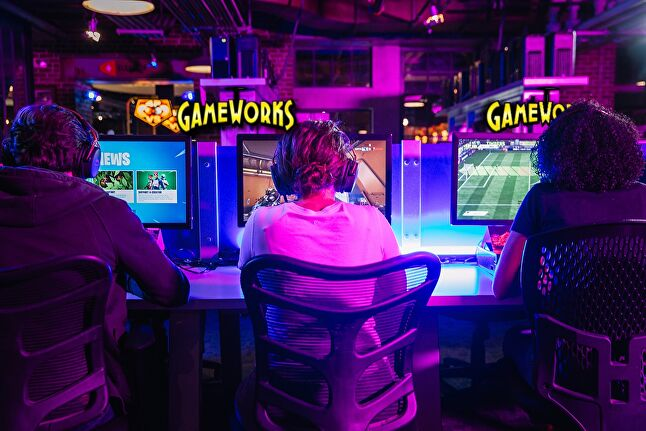 GameWorks locations combine arcades, restaurants, and esports