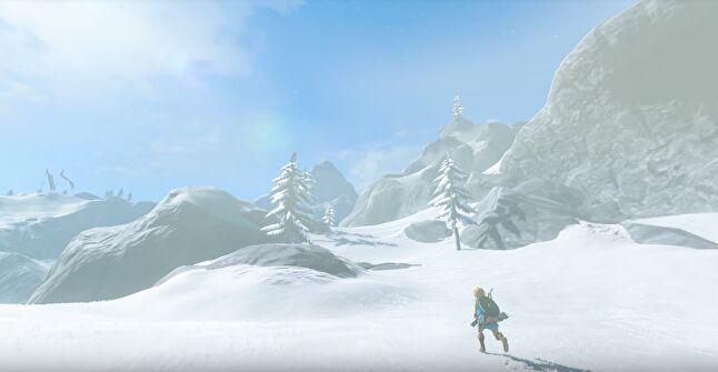 In Breath of the Wild, the weather system has a direct impact on the gameplay