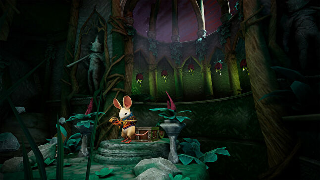Polyarc's Moss was one of the early PSVR hits