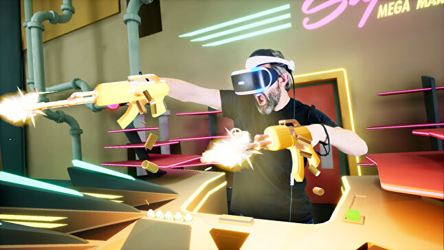 nDreams' multi-tasking shooter Shooty Fruity