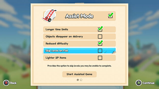 Assist Mode was introduced halfway through development based on extensive user-testing