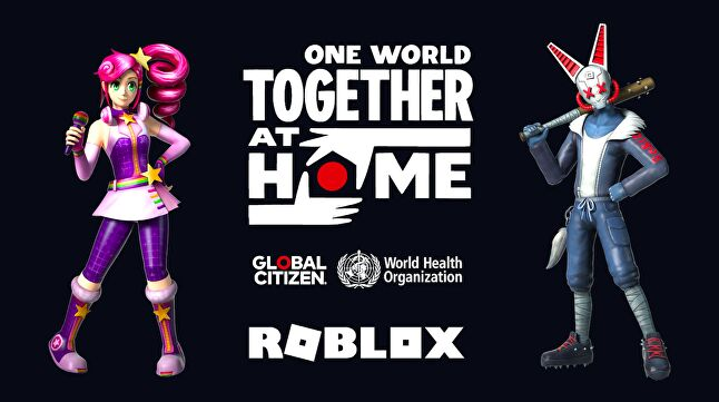 Roblox will be one of the platforms to host the star-studded One World concert