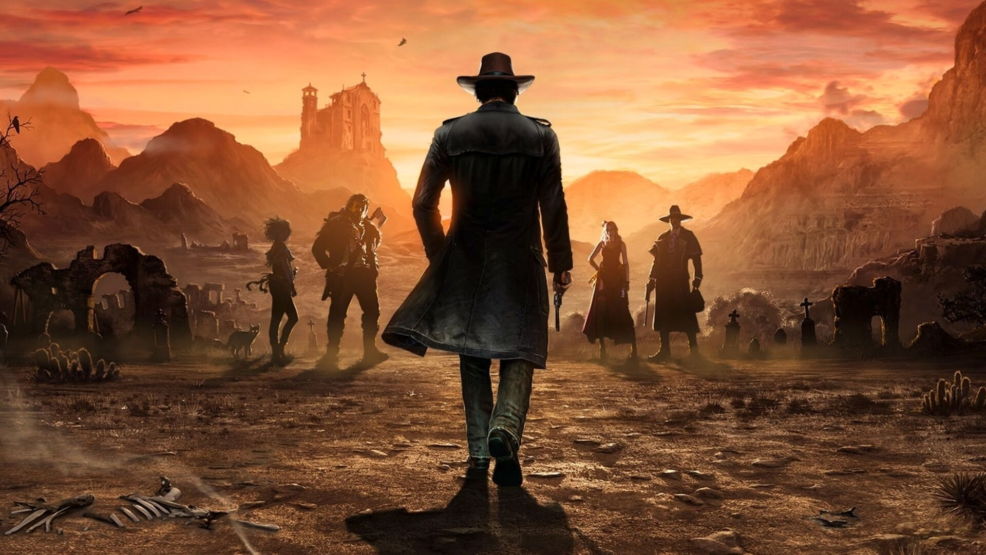 Wild West Tactical Stealth Sequel Desperados 3 Gets June Release Date Eurogamer Net