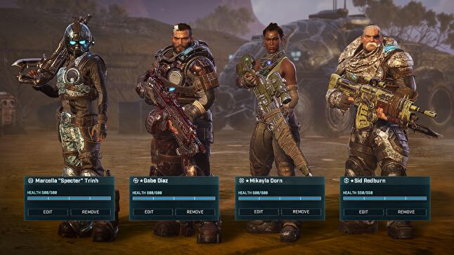 Comparisons with XCOM abound, but Gears Tactics manages to carve its own identity