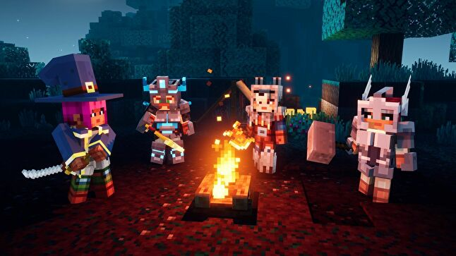 Critics agreed that Minecraft Dungeons is much improved when played in co-op