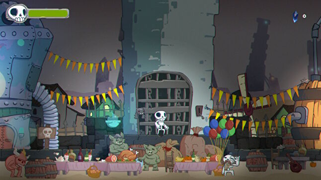 Skelattack might take place in a fantasy world, but it has strict rules