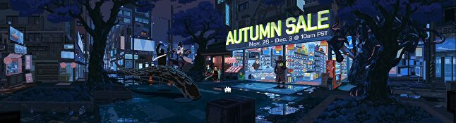 The banner for the Steam Autumn Sale 2019