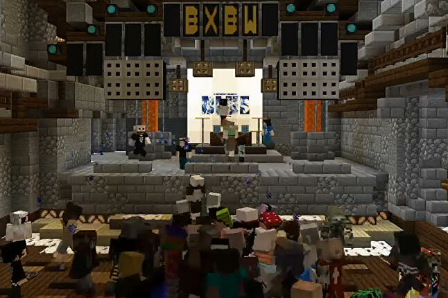 Block by Blockwest was a virtual music festival within Minecraft, complete with roadie avatars fixin technical problems