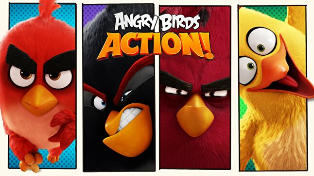 Tag Games worked with Rovio in 2016 for Angry Birds Action