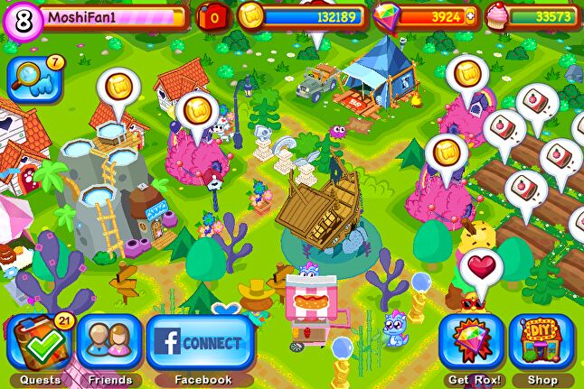 Tag Games worked with Mind Candy on Moshi Monsters Village in 2014