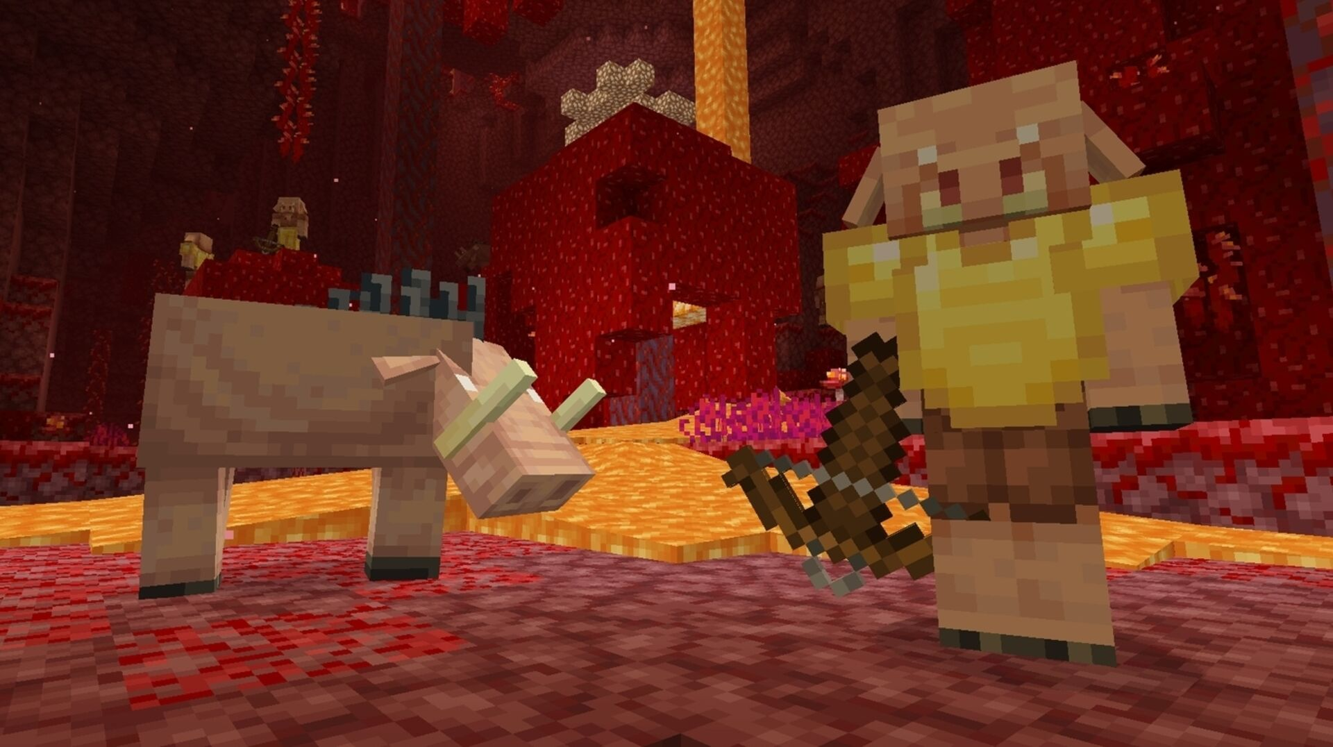 Minecraft S Nether Update Finally Makes Its Hell Dimension More Habitable Eurogamer Net