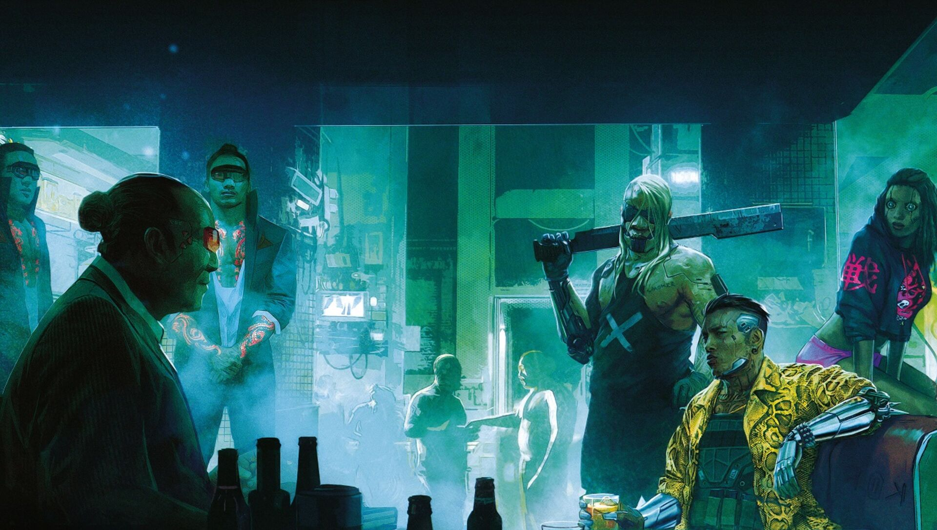 Here S A Whole Load Of Free Cyberpunk 2077 Goodies From Gog Eurogamer Net