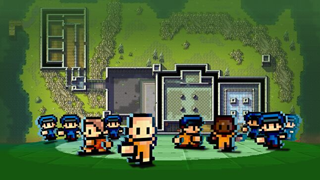 Mouldy Toof Studios and Team17's The Escapists