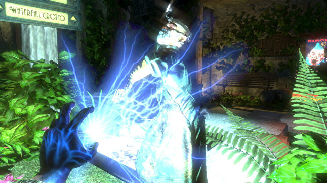 Bioshock was used as an example of a game with 'hidden mechanics' that assist the player without their knowledge