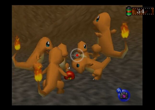 Pokémon Snap was an on-rails shooter that traded ammo for film