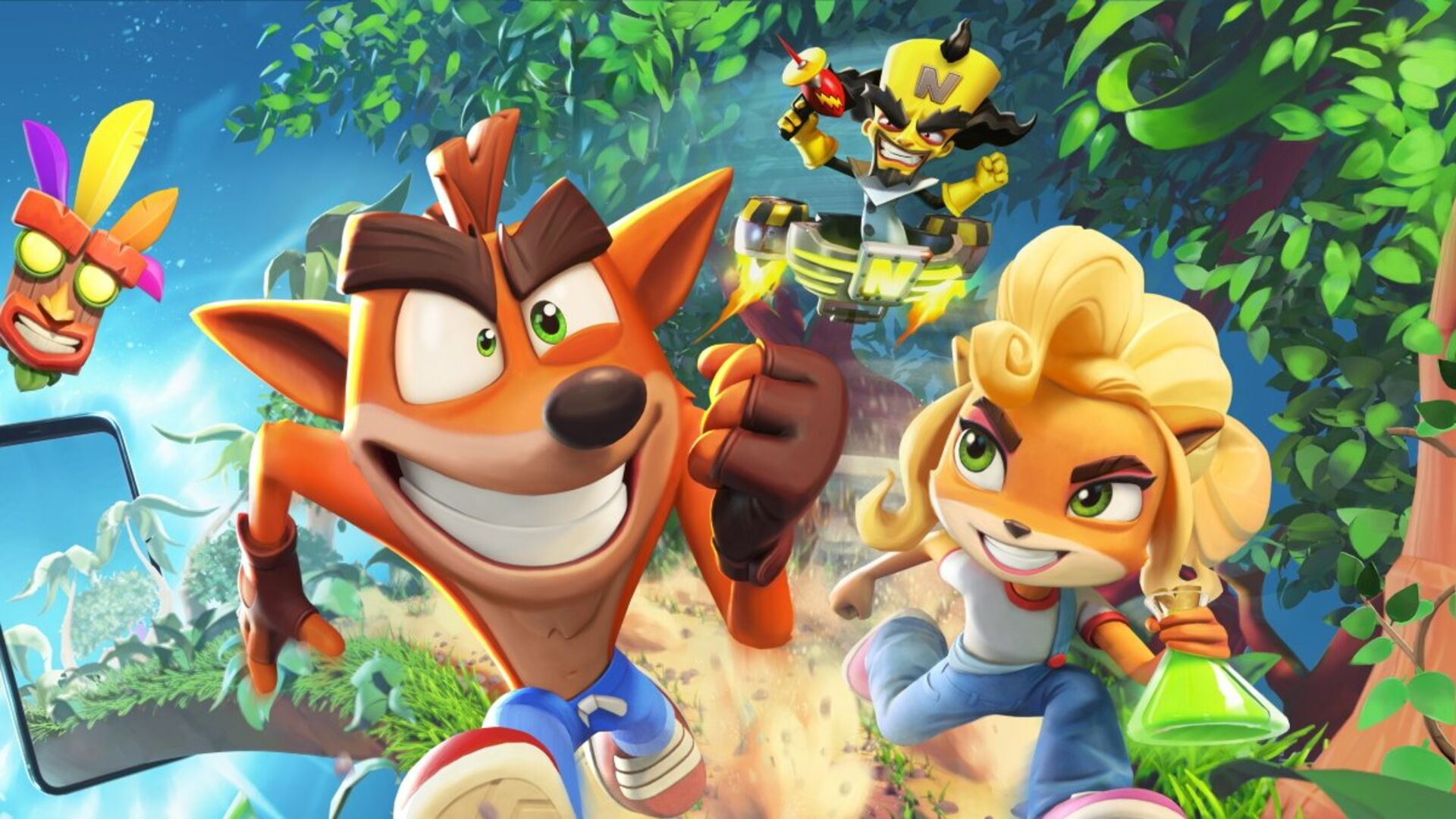 Crash Bandicoot: On the Run! ganha trailer • Eurogamer.pt