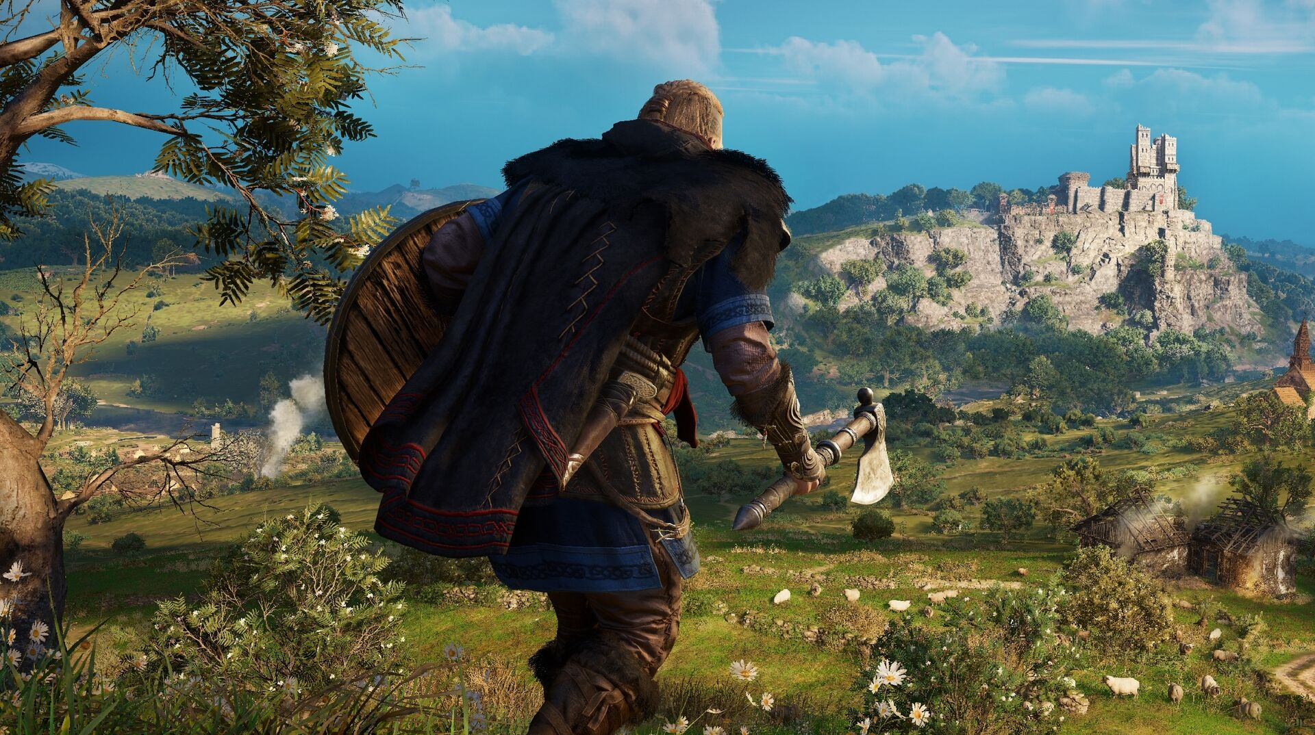 Ubisoft Finally Shows Assassin S Creed Valhalla Gameplay Eurogamer Net