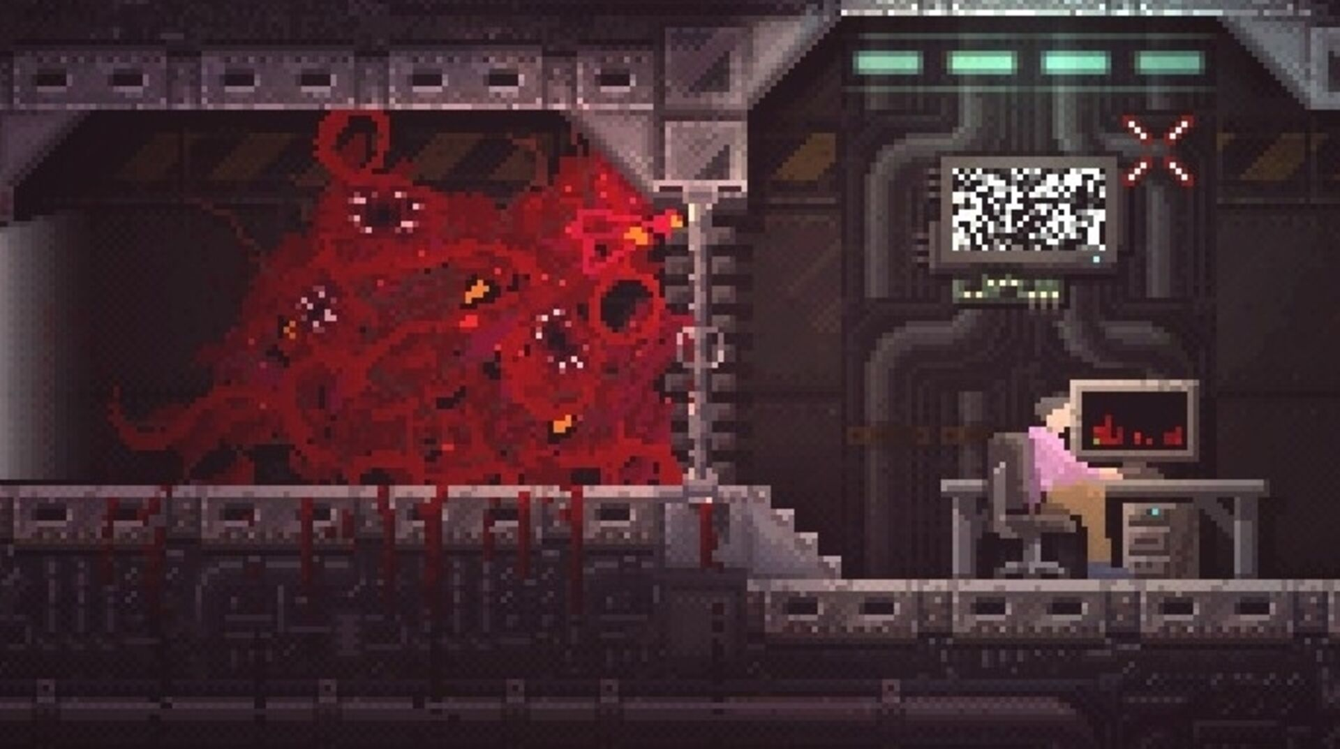 Carrion Review An Unforgettable Monster Chews Its Way Out Of A Solid Metroidvania Eurogamer Net