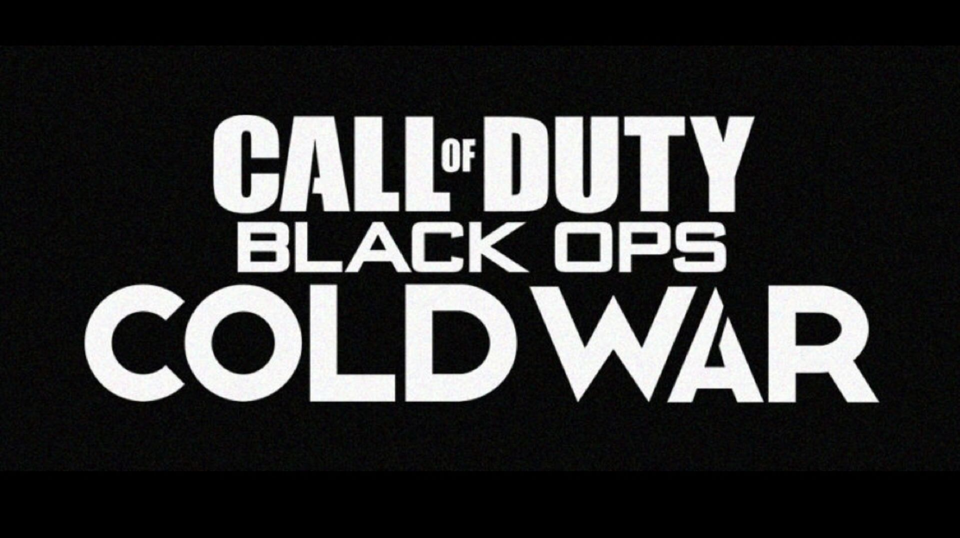 Call Of Duty Black Ops Cold War Has Allegedly Been Leaked By A
