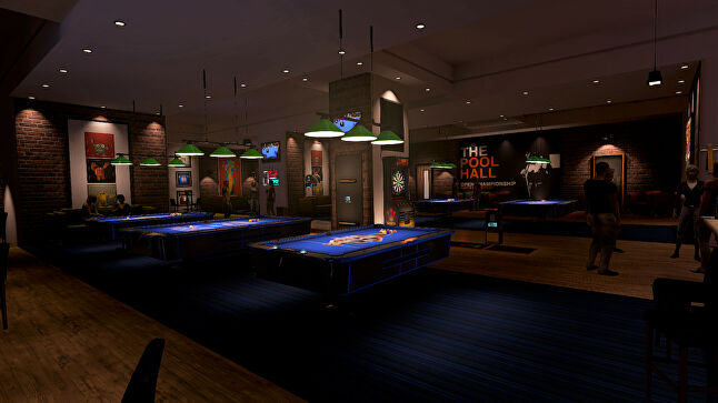 Sports Bar VR is a social VR experience attempting to recreate the atmosphere you'd have in a pub
