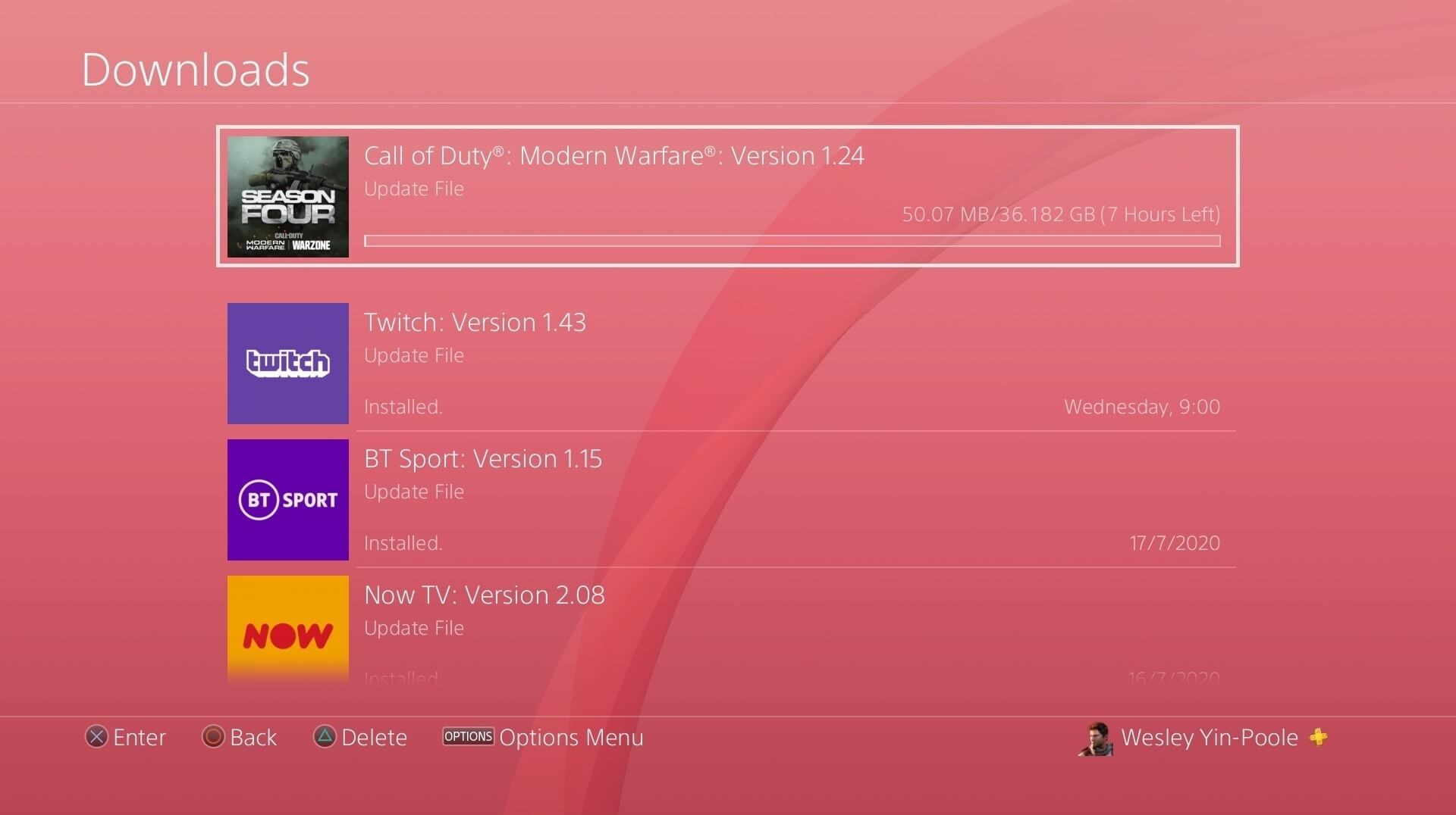 You Can Pre Download Call Of Duty Modern Warfare And Warzone S Massive 36gb Season 5 Update On Ps4 Only Eurogamer Net