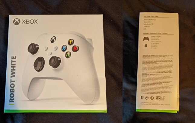 Some photos from Twitter user Zak S, mentioning compatibility with the Xbox Series S