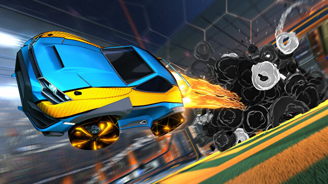 Rocket League went cross-platform in 2019 (Image courtesy of Psyonix)