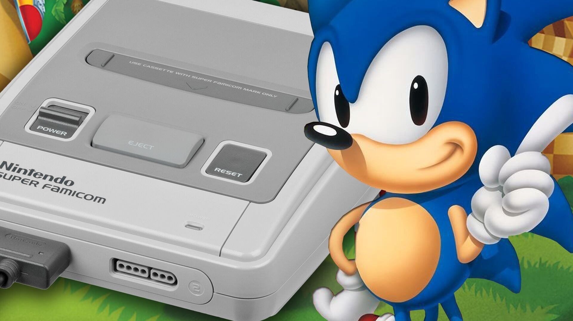 Sonic The Hedgehog Running On Super Nes See The Tech Demo In Action Eurogamer Net