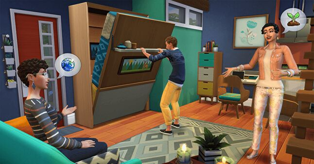 EA ran Sims challenges for its players alongside the show