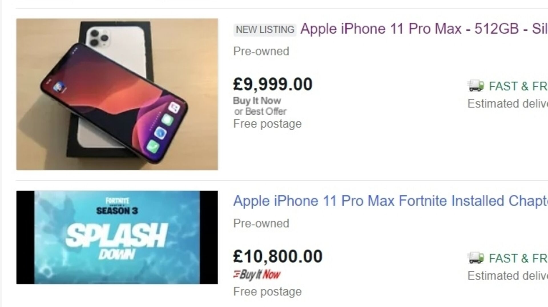 Check My Fortnite Account Worth On Ebay People Are Selling Iphones With Fortnite Installed For Thousands Of Pounds Extra Eurogamer Net