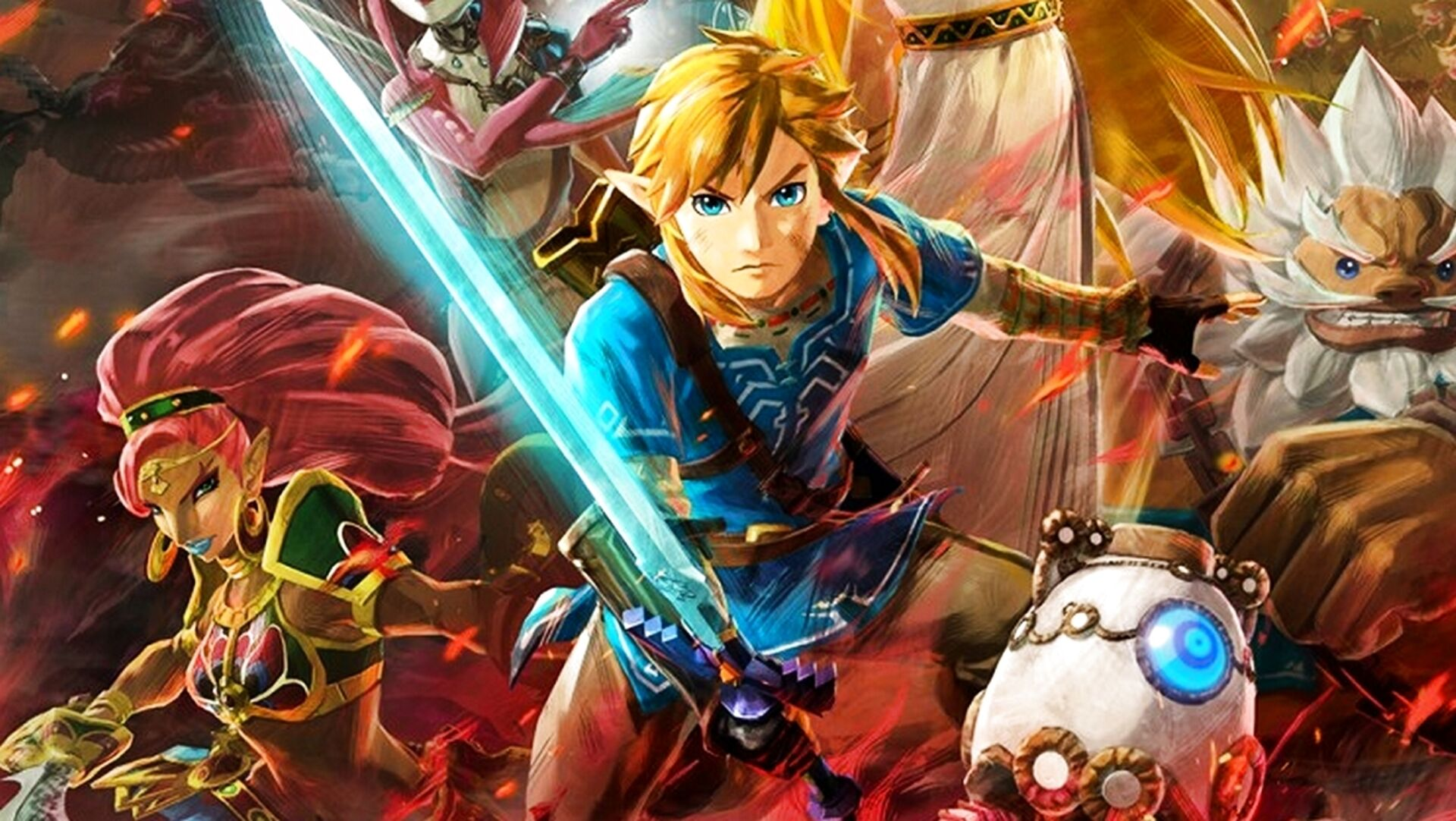 Hyrule Warriors Zeit Der Verheerung Fur Switch Angekundigt 100 Jahre Vor Breath Of The Wild Eurogamer De