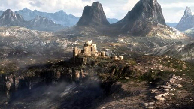 This blurry image is all we know about the next Elder Scrolls game -- it is instantly Microsoft's most important future release