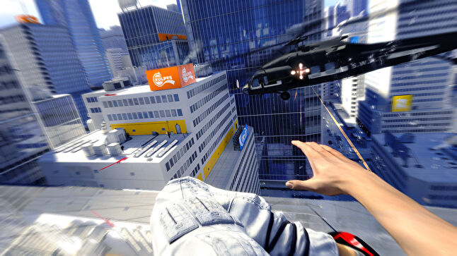 Mirror's Edge screenshot. Not to be confused with Edge Games' Bobby Bearing