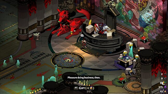 Hades brings a narrative element that stands out among roguelikes