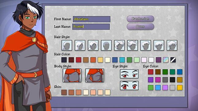 Character customisation was another area that married well to Kickstarter's tiered rewards structure