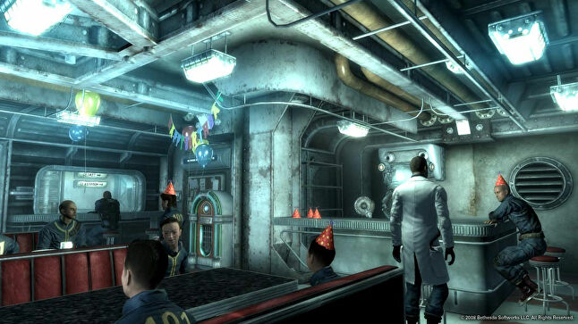 Howard admits the opening to Fallout 3 is 'overly long' in retrospect, but it was key to creating that feeling of stepping into a larger world as you leave the Vault