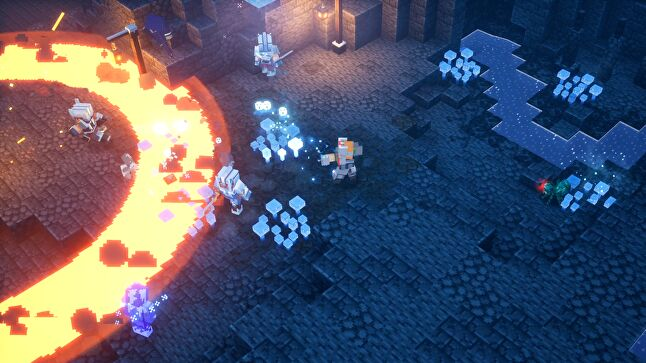 Minecraft Dungeons: Creeping Winter released in September