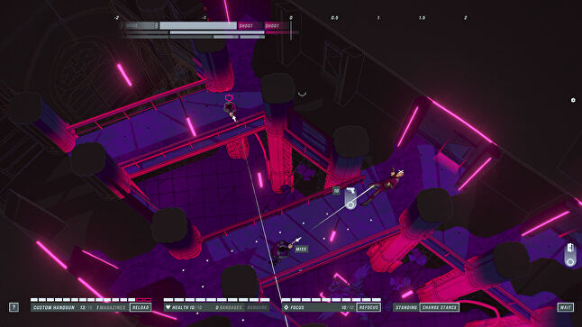 With John Wick Hex, Bithell Games aimed to do something more strategic than its past projects