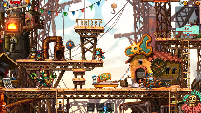 The SteamWorld series has sold more than four million copies worldwide, and Thunderful now has its sights set on creating AA new IP